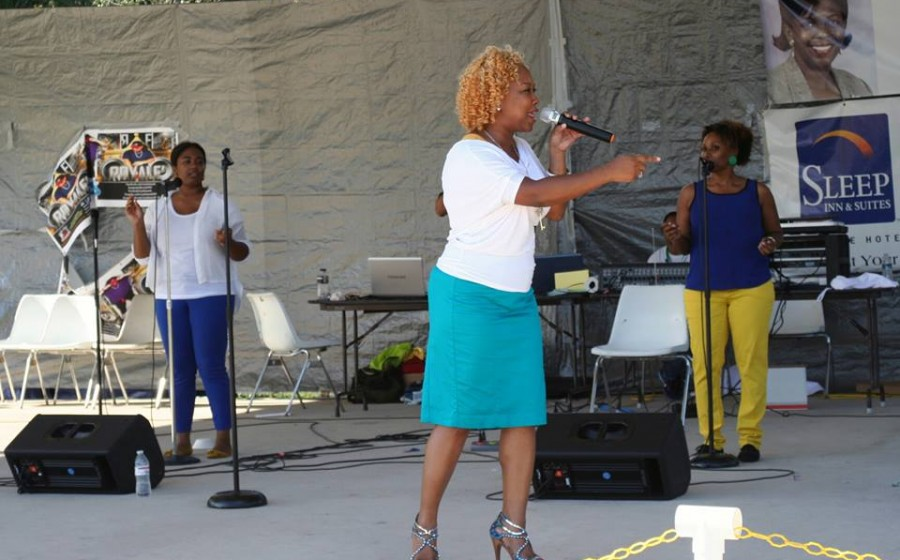Joy Dennis at Soul Food Fest