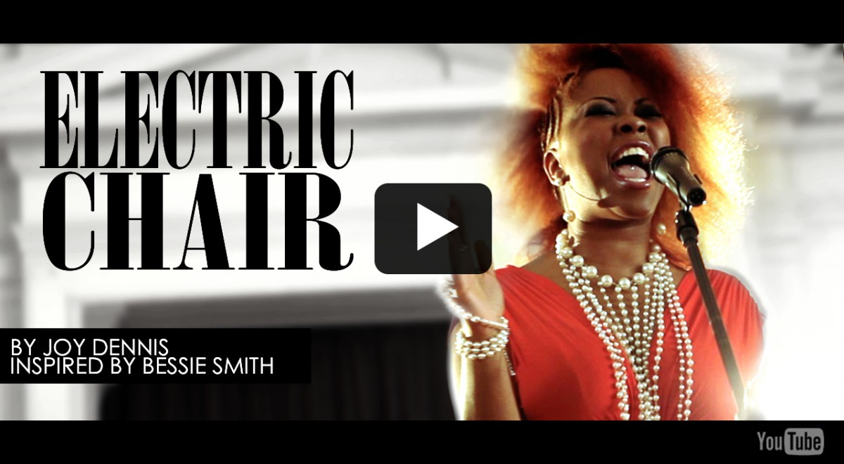 Electric Chair by joy Dennis Inspired by Bessie Smith