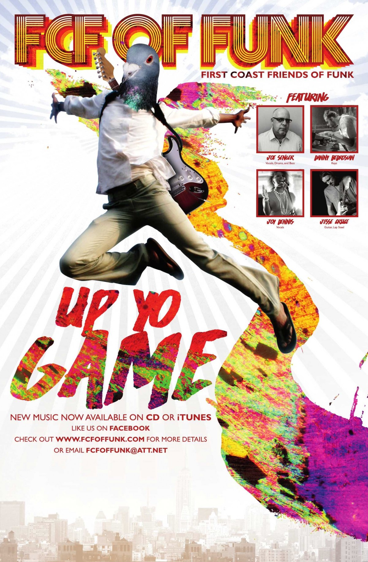 """First Coast Friends of Funk releases new album, """"Up Yo Game"""""""